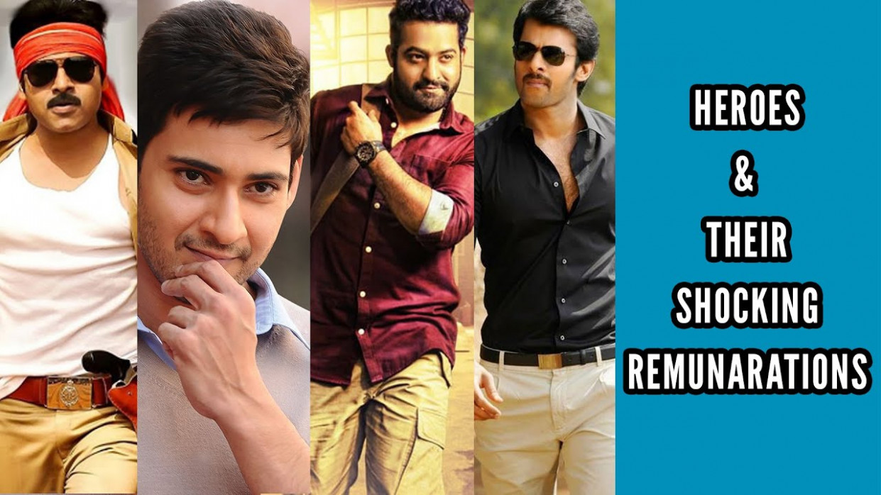 Tollywood Heroes Remuneration List - YouTube