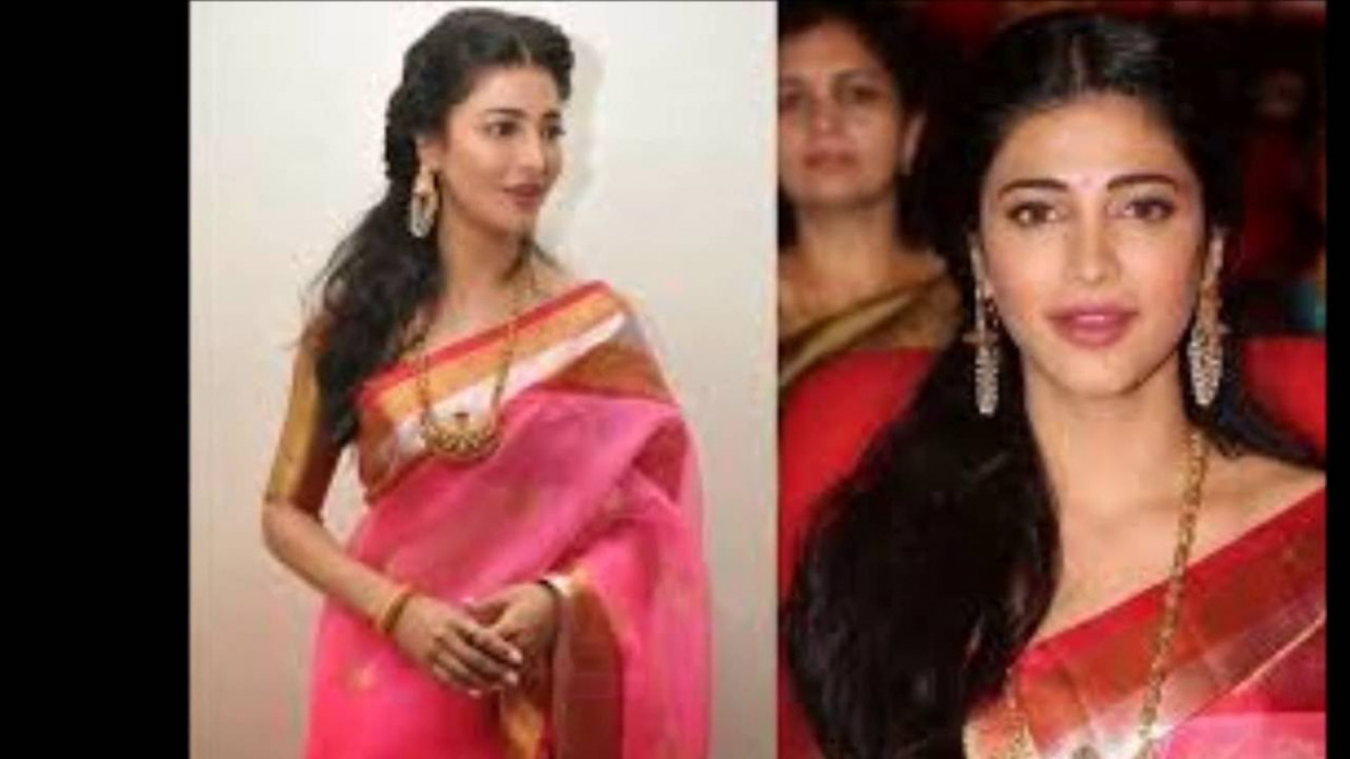 Tollywood Heroines in Sarees - YouTube