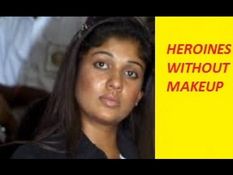 Tollywood heroines without makeup Exclusive... - YouTube