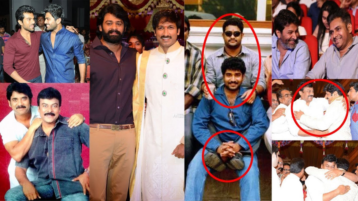 Tollywood Heros with their Best Friends Photos ...