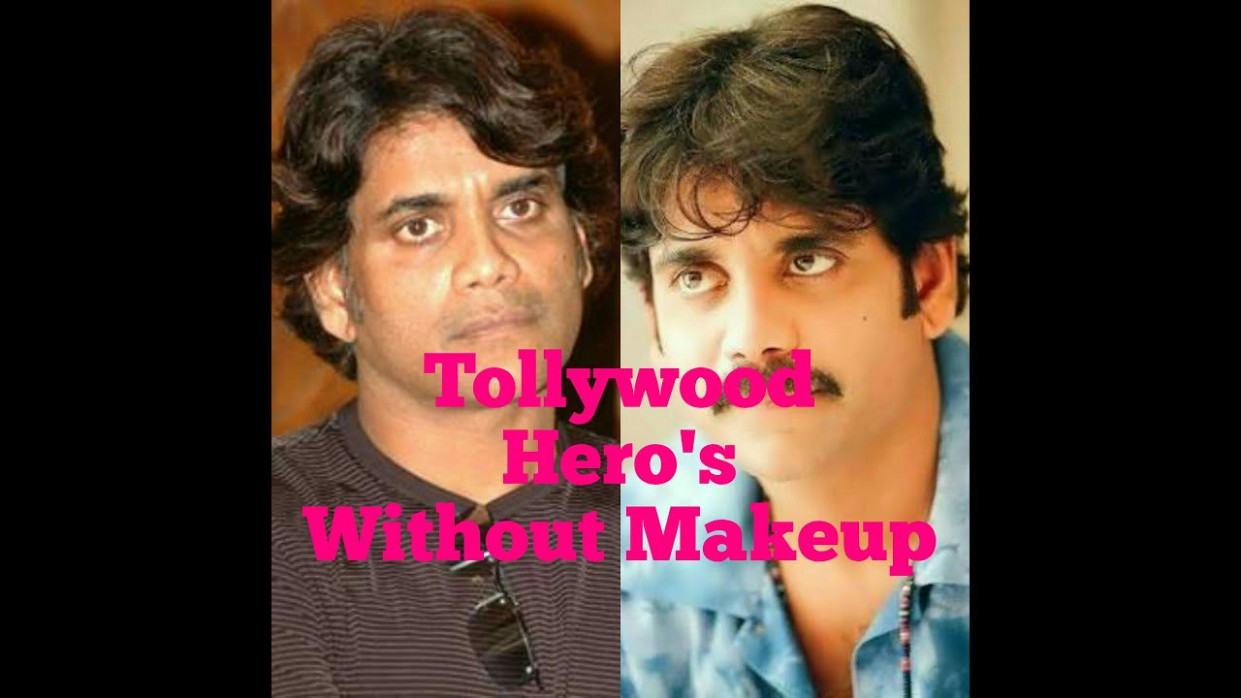 Tollywood Heros Without Makeup - YouTube