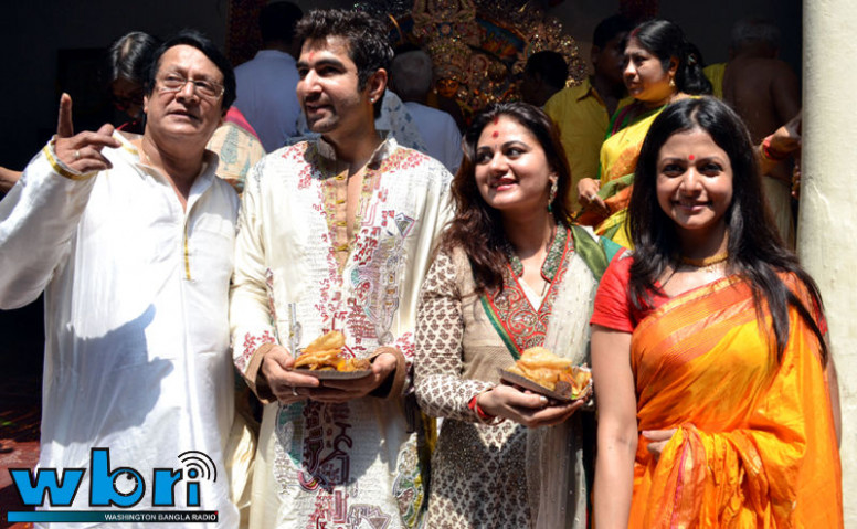 tollywood hot picture: jeet koel and his wife