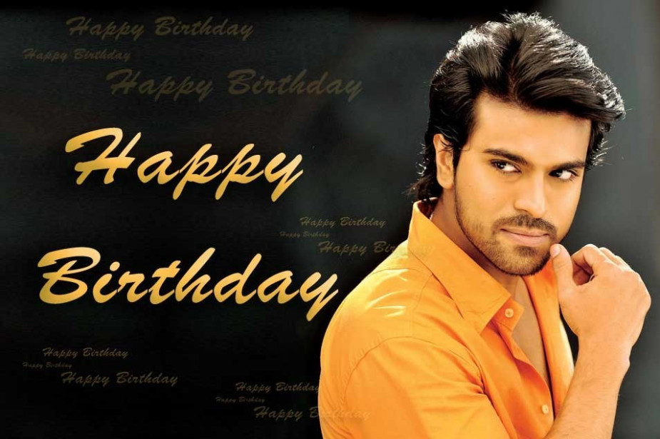 "TOllywood Industry wishes Ramcharan ""A Happy birthday ..."