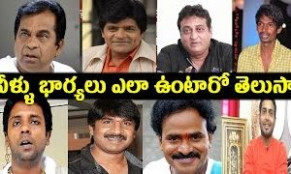 Tollywood Popular Comedians and Their Wives real life ...