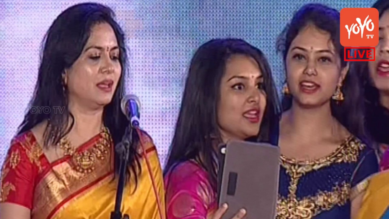 Tollywood Singers Sunitha & Kalpana and Other Singing At ...