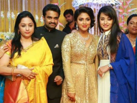 Tollywood Stars' Galore At Amala Paul's Wedding Reception ...