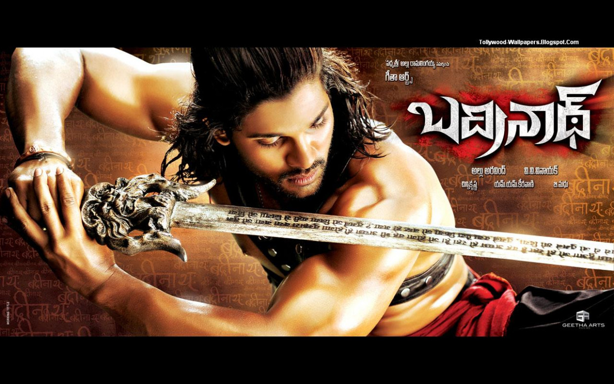 Tollywood Wallpapers: Badrinath Telugu Movie Wallpapers