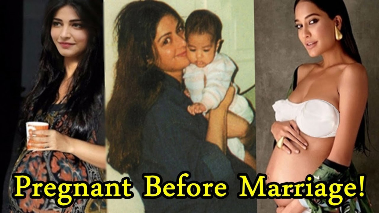 Top 10 Bollywood Actresses Who Got Pregnant Before ...