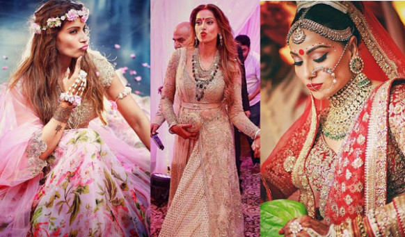 Top 10 Bollywood Brides & Their Wedding Day Looks - Heart ...