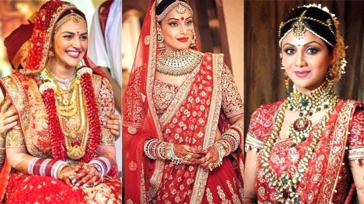 Top 10 Bollywood Brides And Their Gorgeous Wedding Day ...