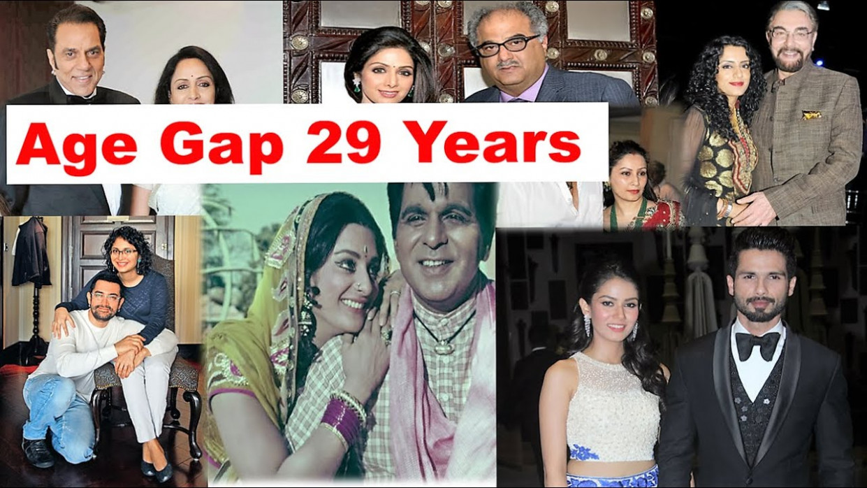 Top 10 Bollywood Couples with a Big Age Gap - The TopLists ...