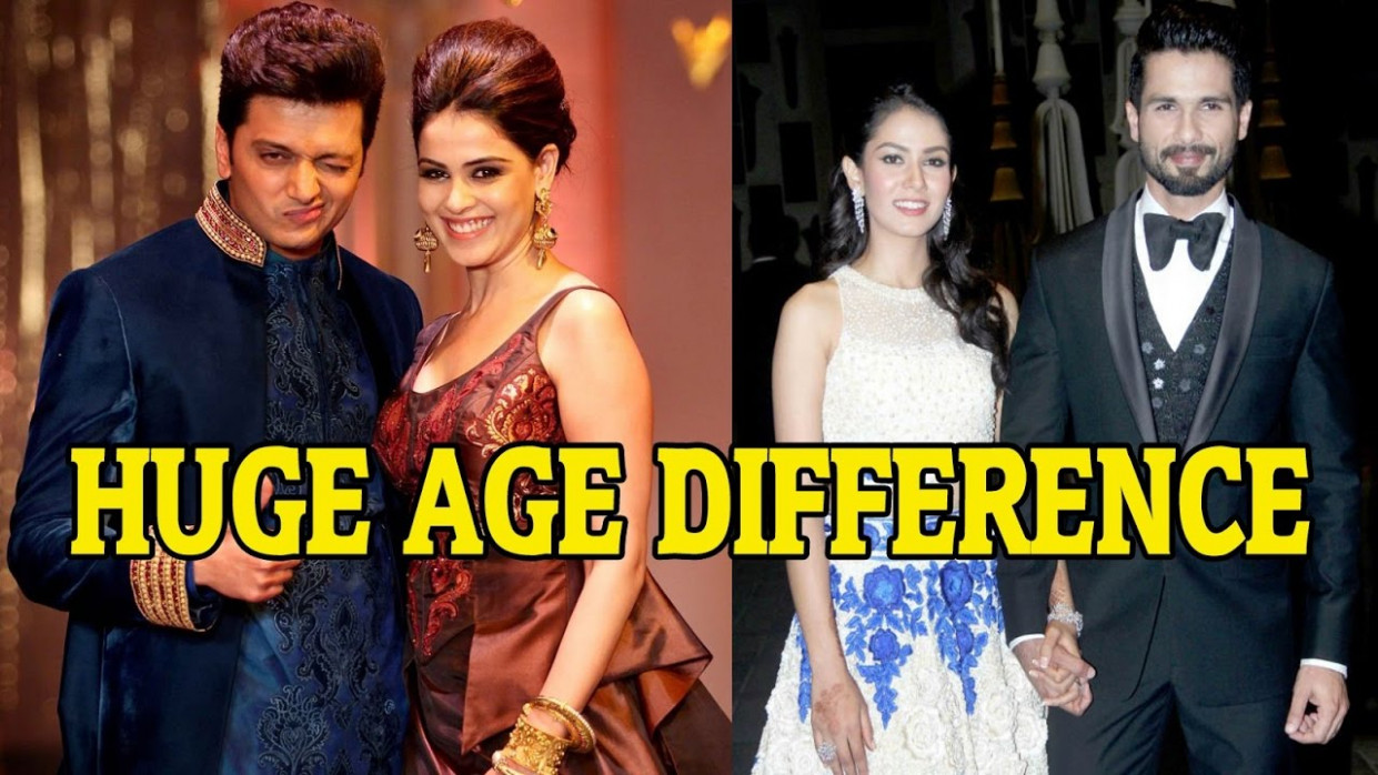 Top 10 Bollywood Couples with a Big Age Gap - YouTube