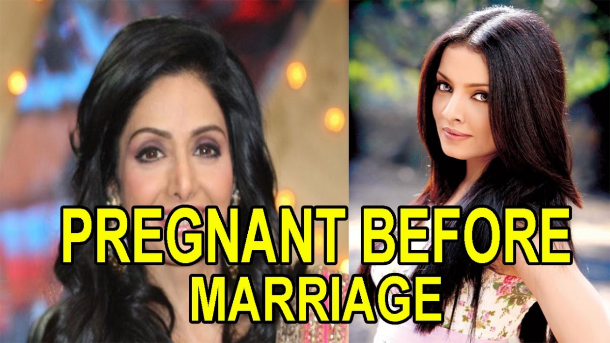 Top 10 Famous Bollywood Actresses who got Pregnant Before ...