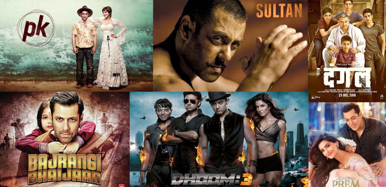 Top 10 Highest Grossing Bollywood Movies 2017