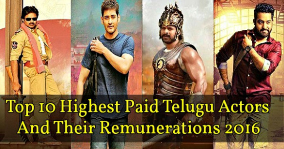 Top 10 Highest Paid Actors in Tollywood 2018 Top ...