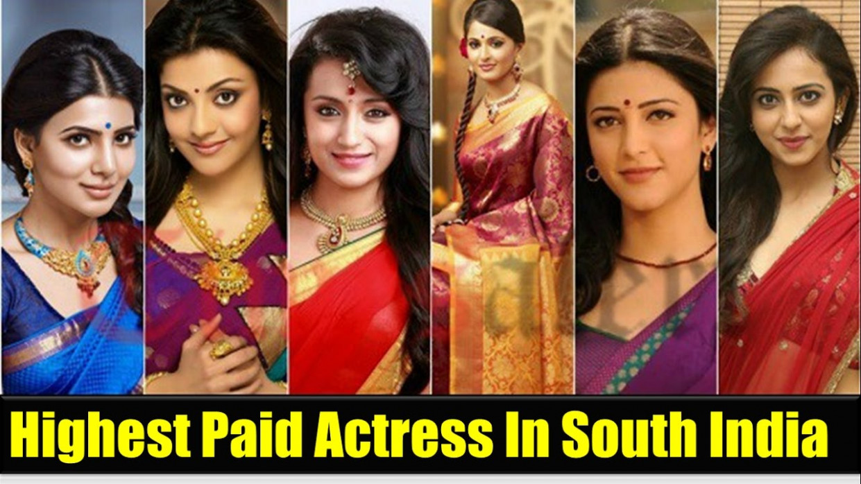 Top 10 Highest Paid Actresses in Tollywood 2016 South ...