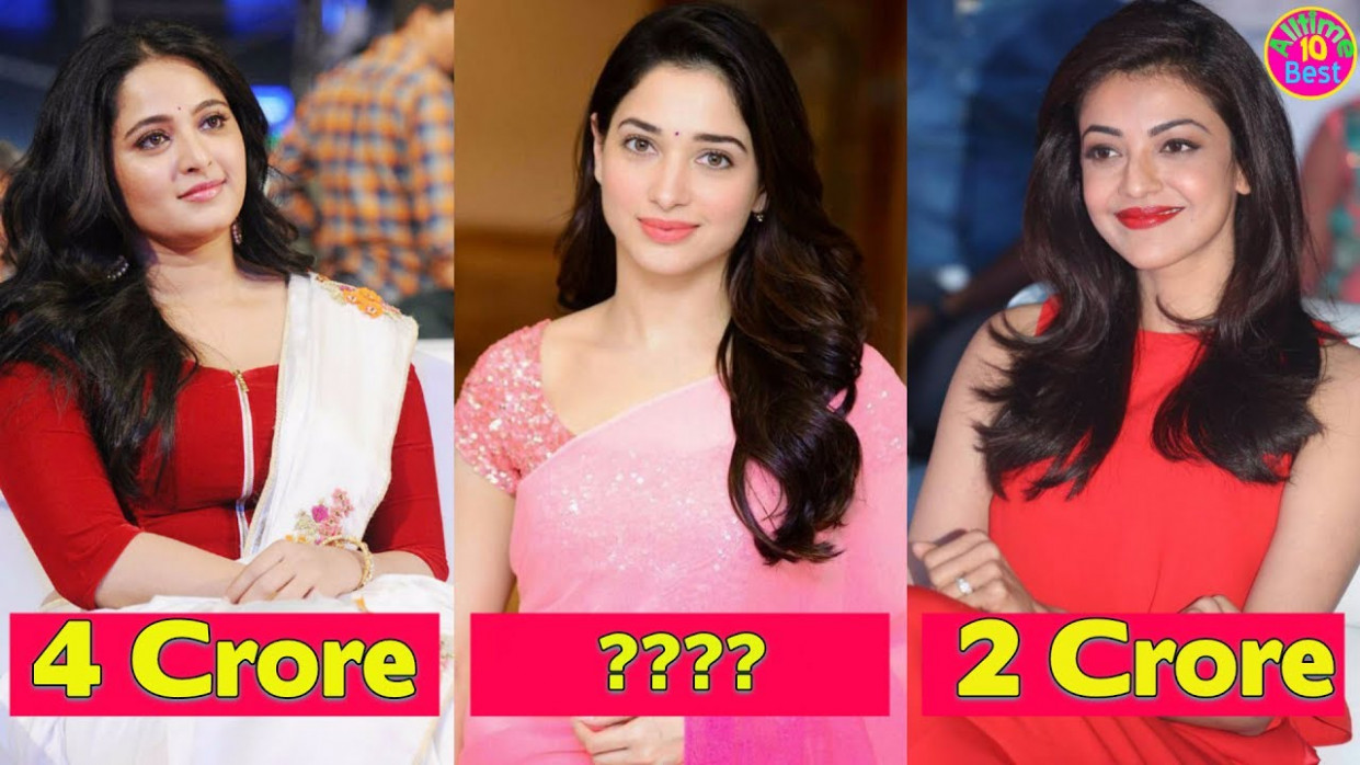 Top 10 Highest Paid Actresses In Tollywood 2017 - YouTube