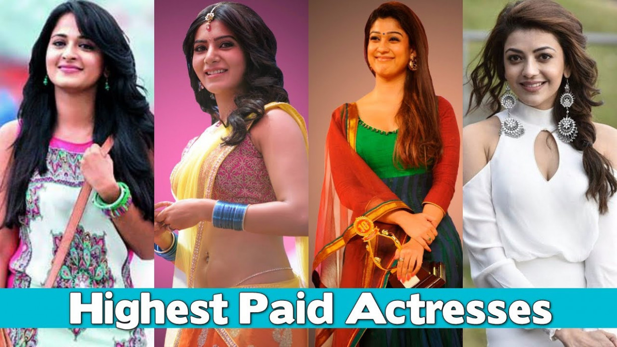 Top 10 Highest Paid Actresses in Tollywood 2018 - YouTube
