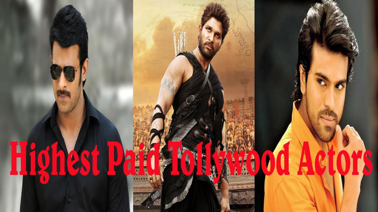 Top 10 Highest Paid Tollywood Actors - YouTube