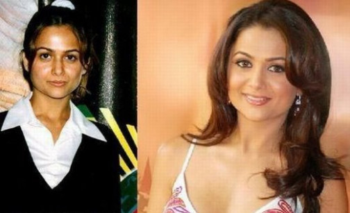 Top 10 Indian Actresses that look Weird without Makeup ...