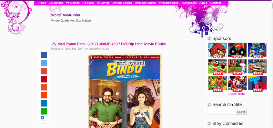 Top 10 Latest Bollywood Movie Downloading Websites For ...