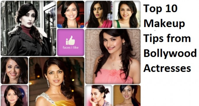 Top 10 Makeup Tips from Bollywood Actresses - bollywood makeup tips