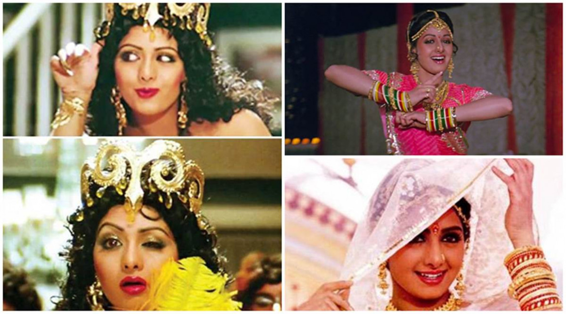 Top 10 songs of Sridevi | The Indian Express - bollywood songs for wedding video