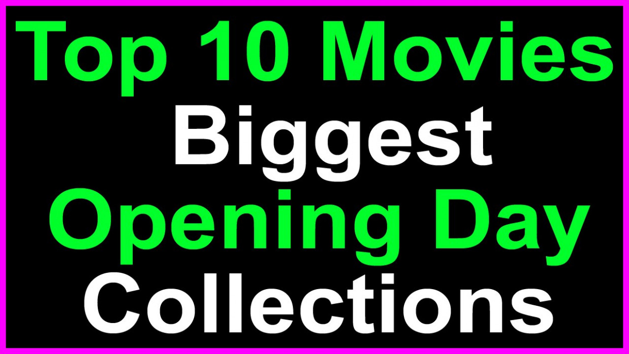 Top 10 Telugu Movies First Day Boxoffice Collections In ...
