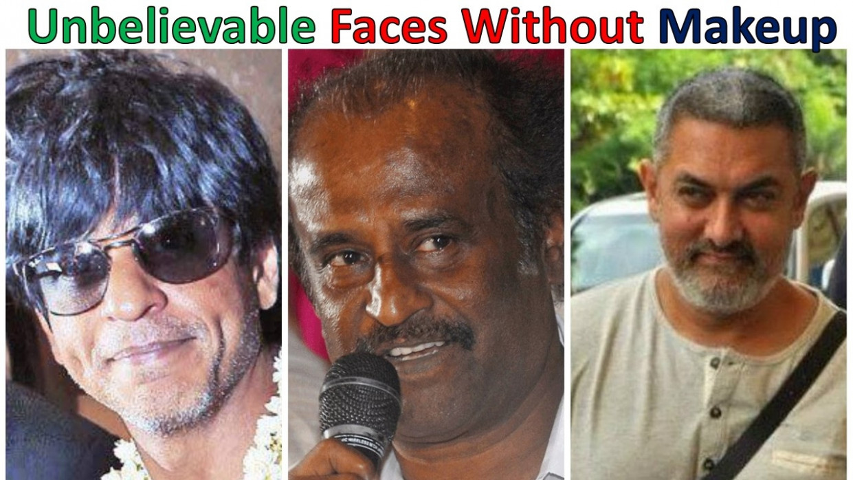 Top 10 Unbelievable faces of Bollywood actor without ...
