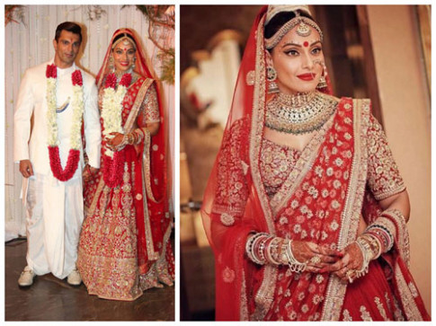 Top 10 Wedding Lehengas of Bollywood Celebrities ...