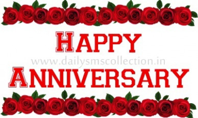 Top 100 Happy Wedding Anniversary SMS Messages Wishes Quotes - hindi happy marriage anniversary sms
