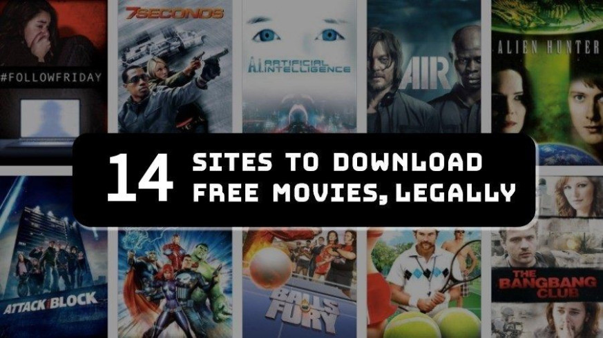 Top 14 Free Movie Download Websites | Completely Legal ...