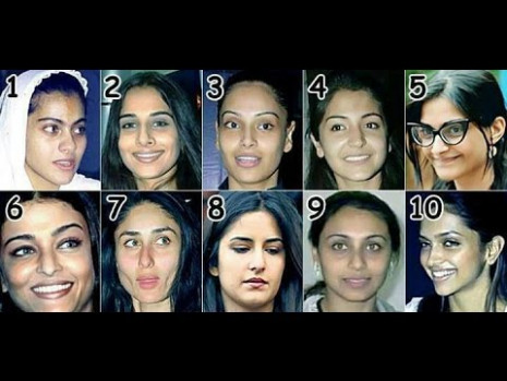 Top 20 Bollywood Actress Without Makeup | Latest Pictures ...