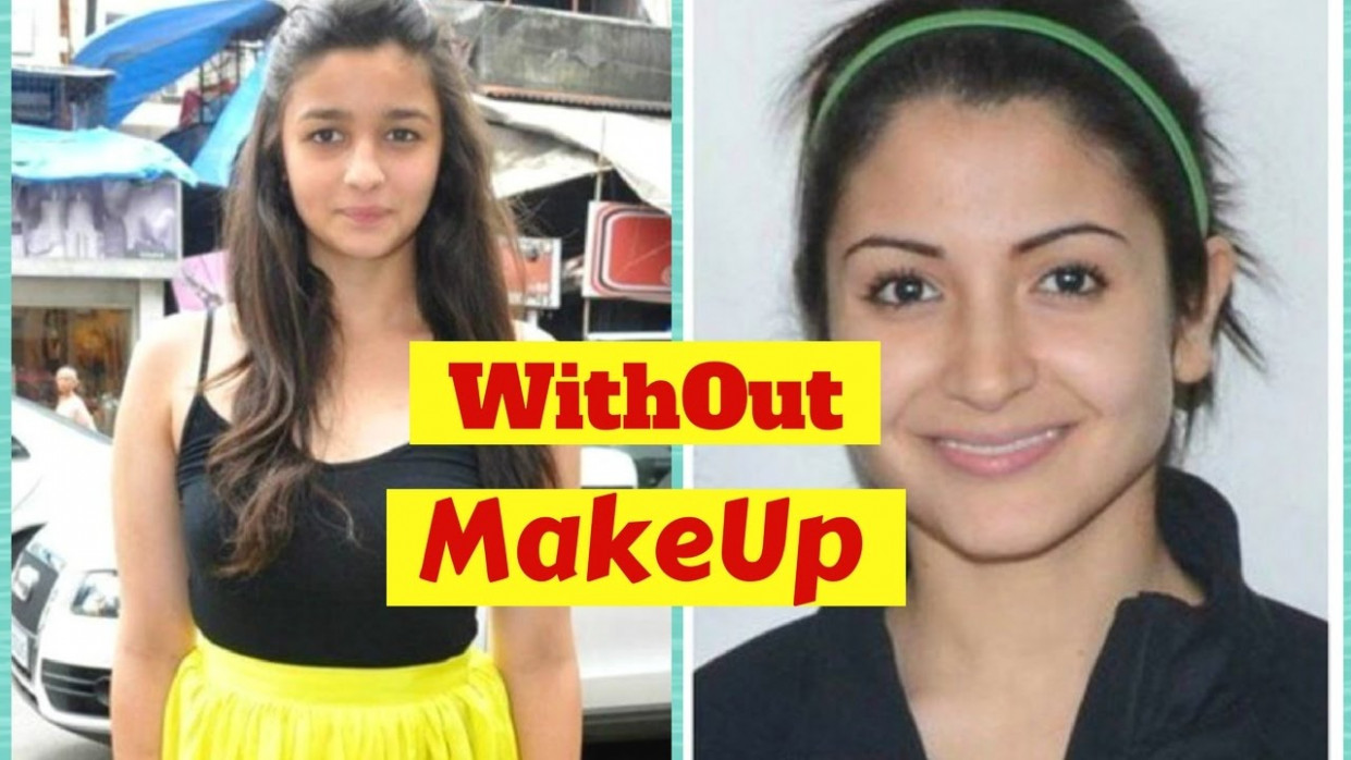 Top 30 Bollywood Actress Without Makeup - YouTube