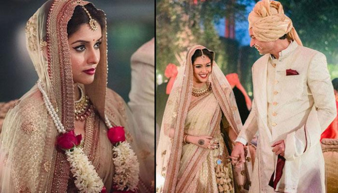 Top 5 Real Life Bollywood Wedding Outfits - Fullonwedding - elaborate look for bollywood wedding