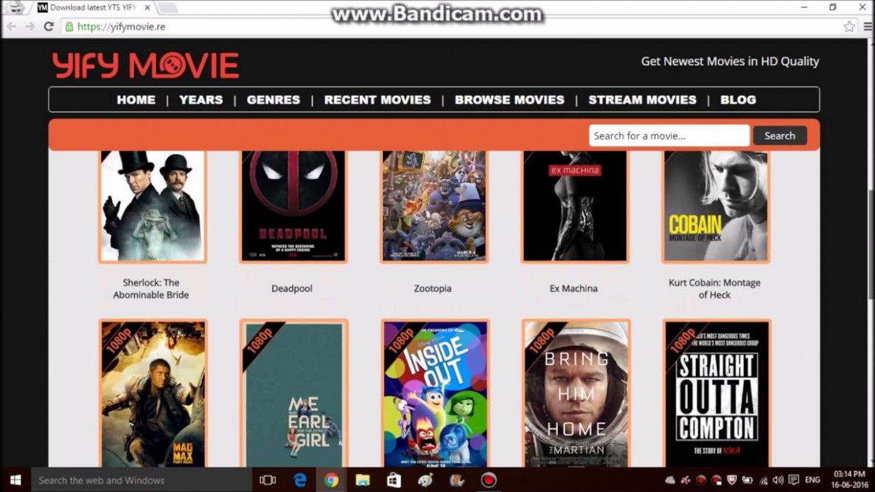Top 5 websites to download latest movie's - YouTube