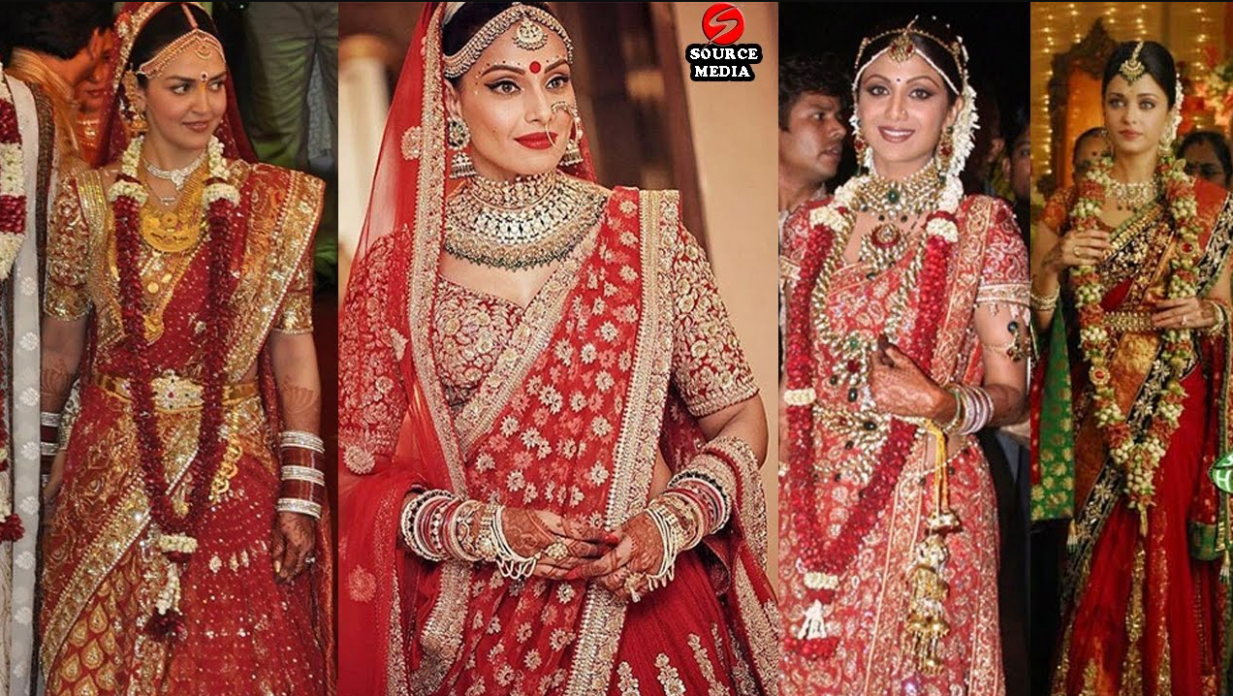 Top 9 Bollywood Brides And Their Stunning Wedding Day Look