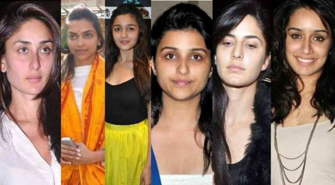 Top Actresses Without Makeup You Cannot Recognize - bollywood actress without makeup photos images