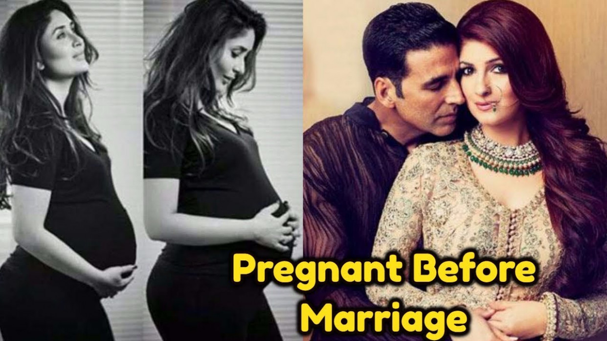 Top Bollywood Actresses who got Pregnant Before Marriage ...