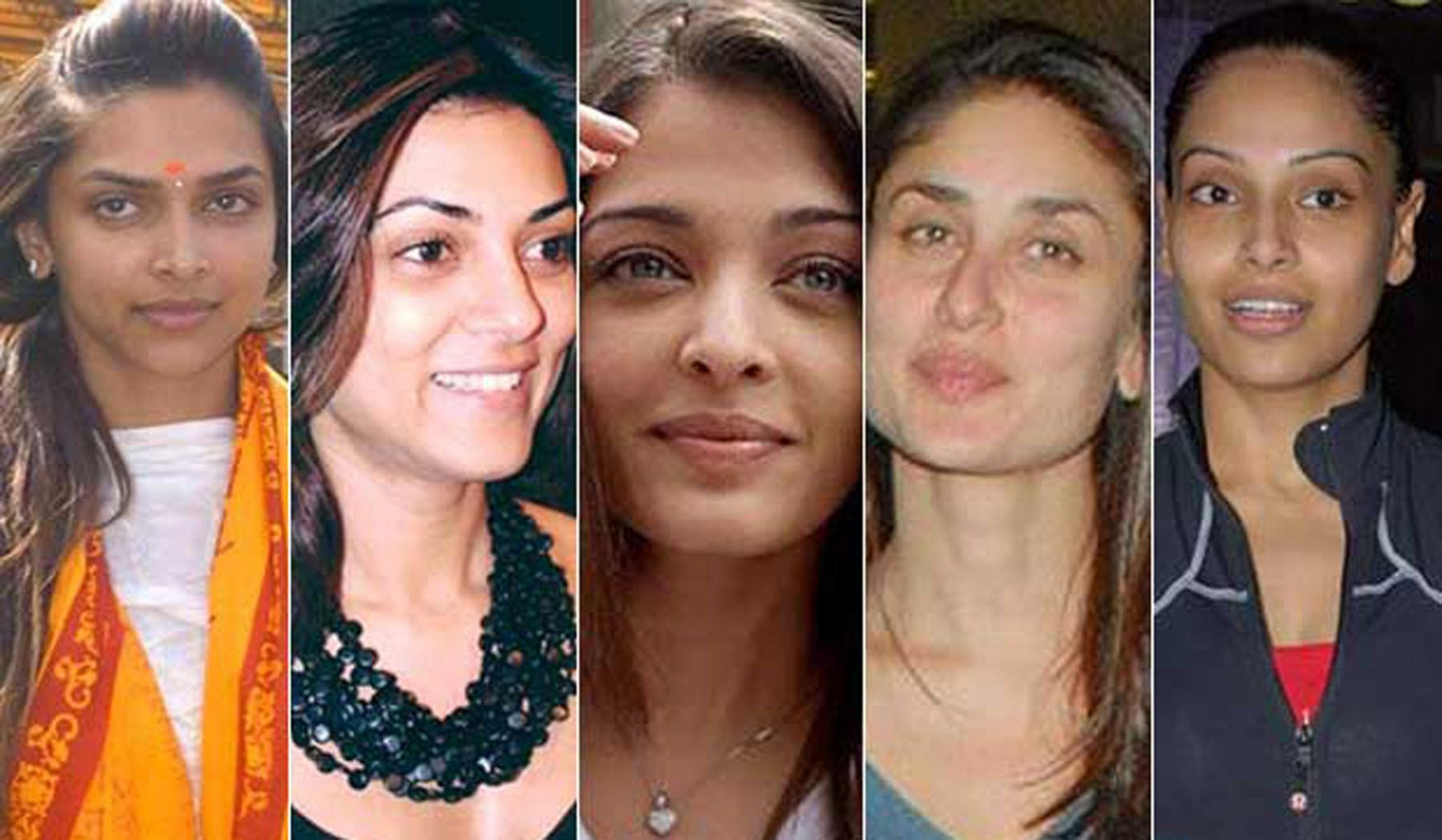 Top Ten Bollywood stars actresses without makeup - Makeup ...
