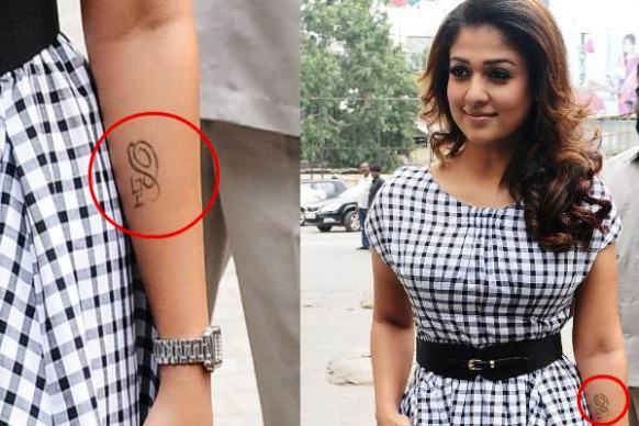 Top Tollywood actress who has got Tattoos on HOTSPOT ...