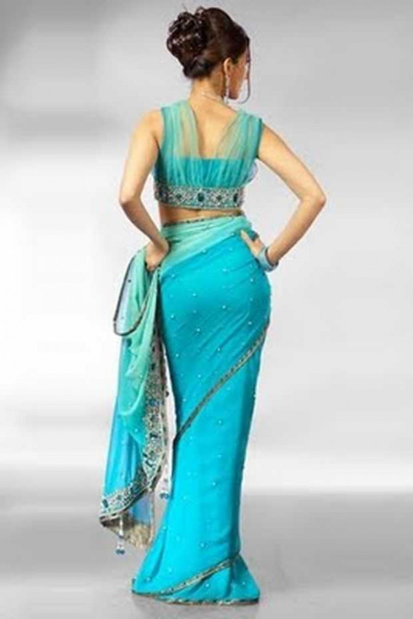 Traditional Yet Stylish Indian Saree Blouse Designs For 2012