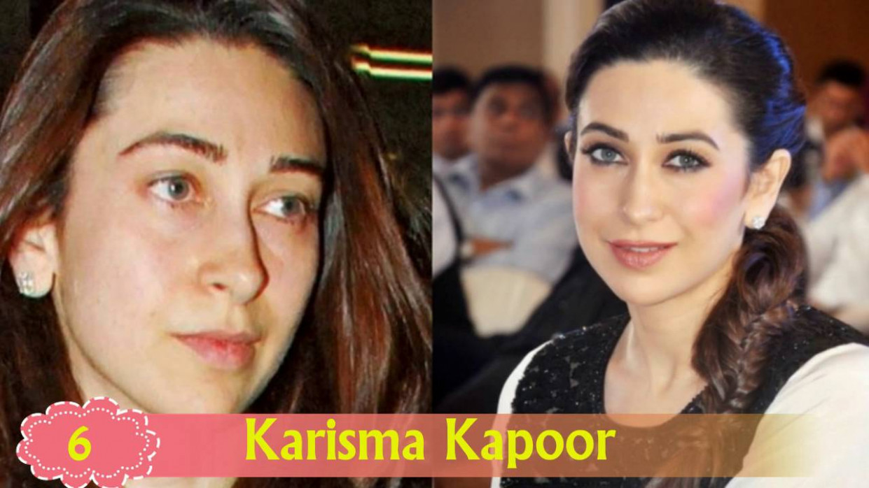 Unbelievable - The Look Of Bollywood Actresses Without ..