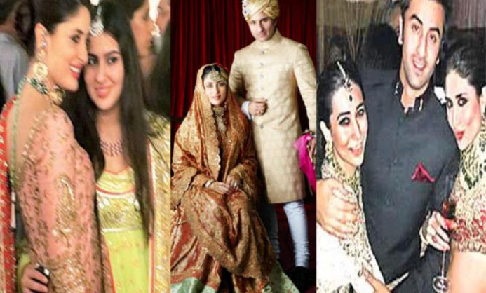 Unforgettable moments of Saif, Kareena wedding (see pics ...