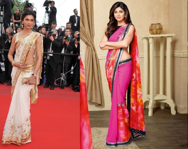 Unique Saree Draping Styles to Look Hot and Sexy - Top 5 ...