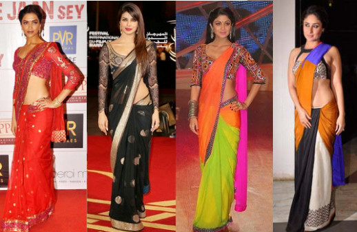 Unusual Saree Draping Styles | Indian Fashion Blog