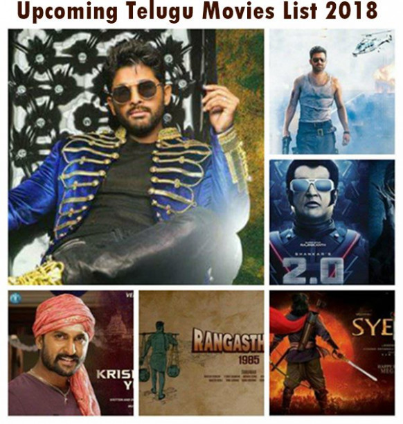 Upcoming New Tollywood (Telugu) Movies List 2018 With ...
