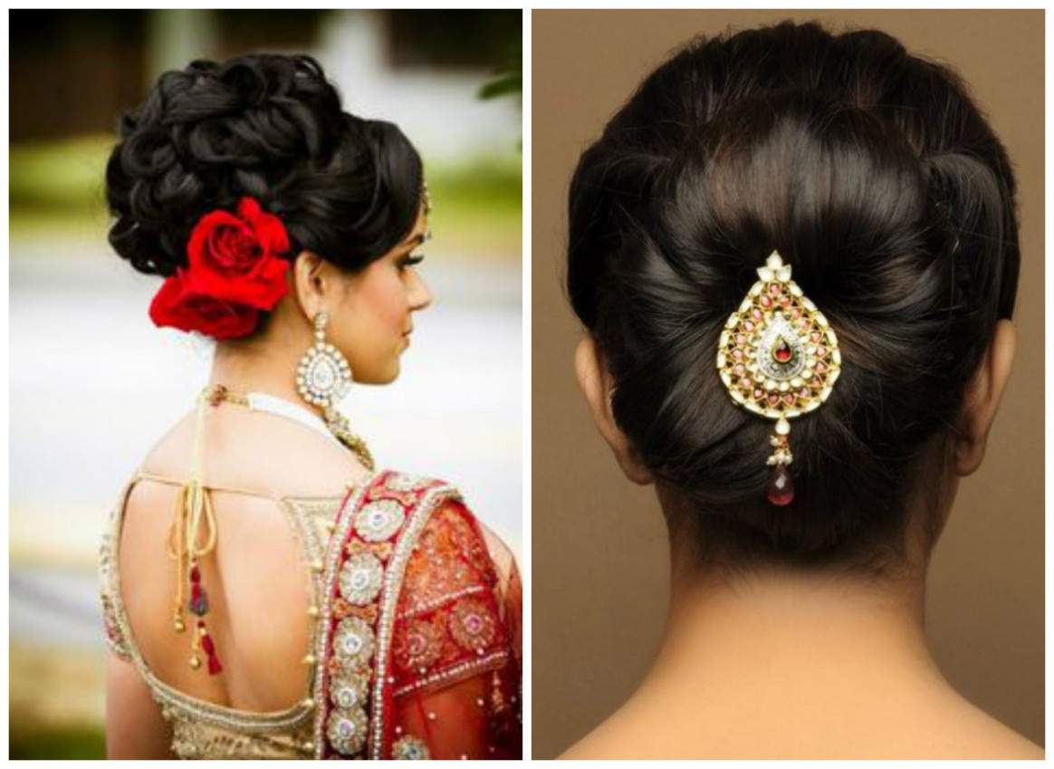 Various Indian Hairstyle of Medium Length for Weddings ...