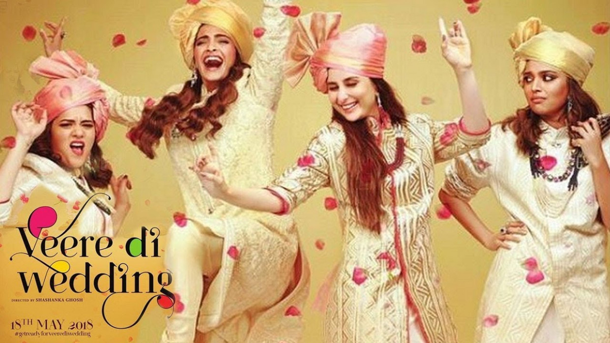 Veere Di Wedding Movie FIRST Look - Kareena Kapoor & Sonam ...