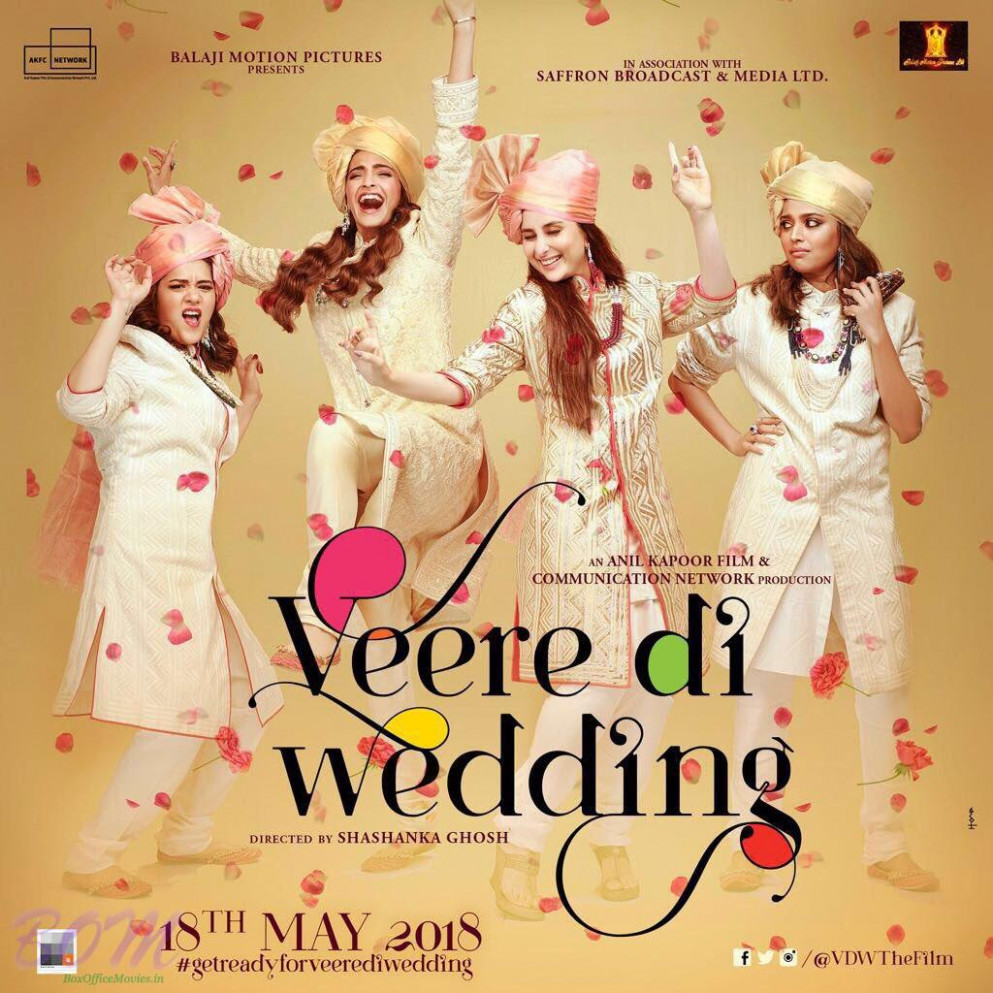 Veere Di Wedding movie first look poster - Pics Bollywood ...